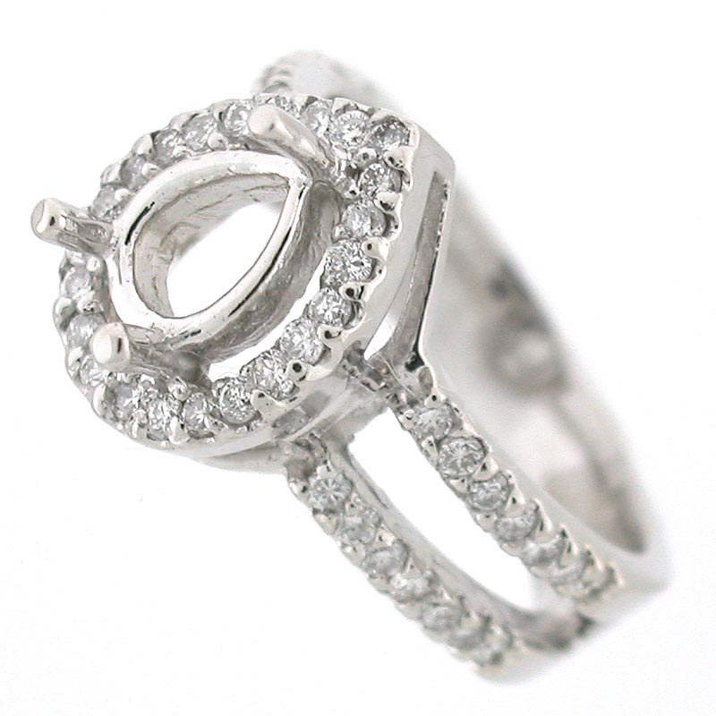 Halo Ring Halo Ring Settings For Pear Diamonds